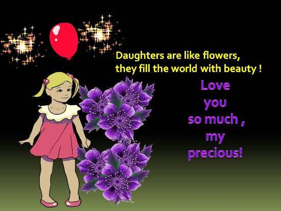 For A Dear Daughter.