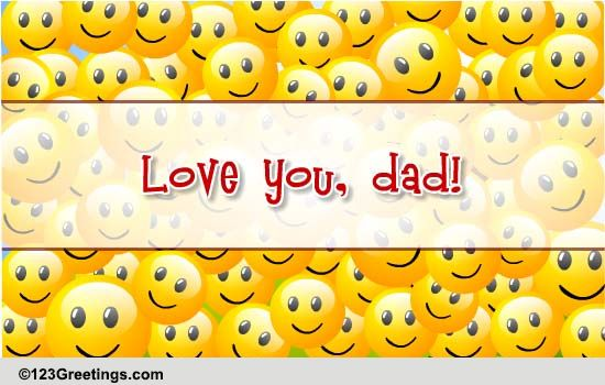 family for your dad cards free family for your dad wishes 123 greetings