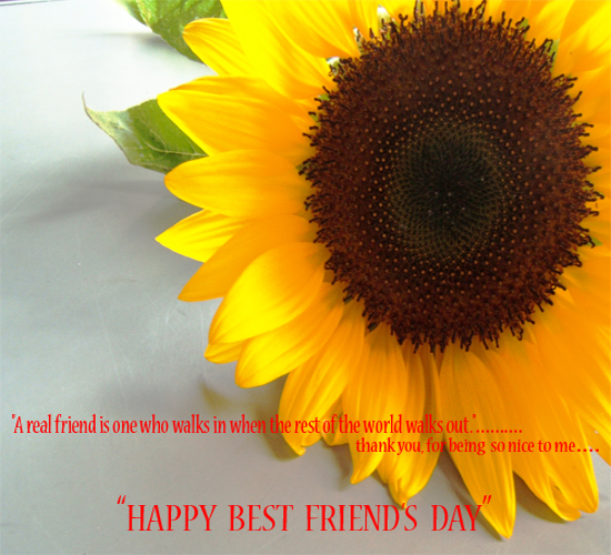 Best Friend's Day!
