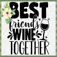 Best Friends Wine Together