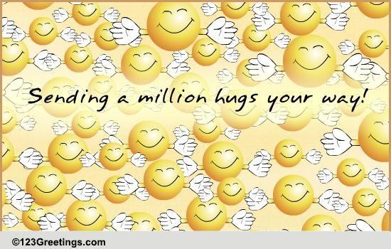Friendship Hugs & Caring Cards, Free Friendship Hugs ...
