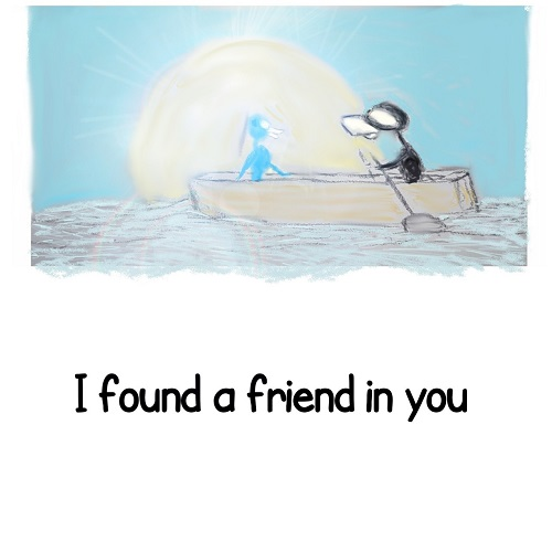 A Good Friendship Card.