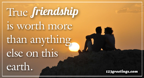 True Friendship Is... Free Friendship Quotes eCards, Greeting Cards | 123  Greetings