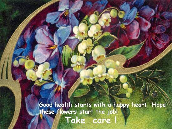 Wish Good Health To A Loved One.