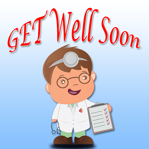 I Wish You To Get Well Soon.