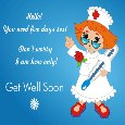 I Am Here, Get Well Soon!!