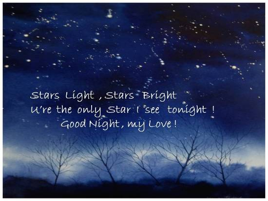 Good Night Wishes For Your Beloved.