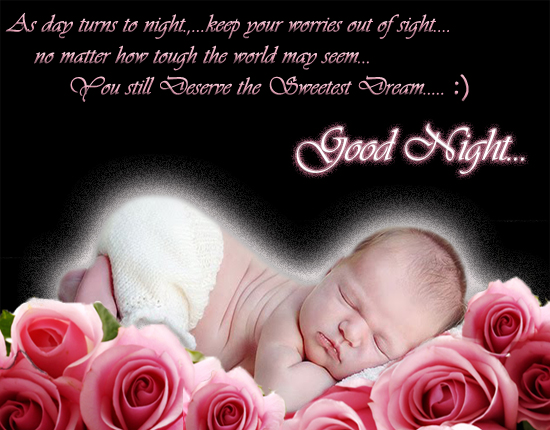A Sweet Good Nite Wish For Loved Ones.