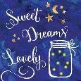Sweet Dreams Lovely With Fireflies!