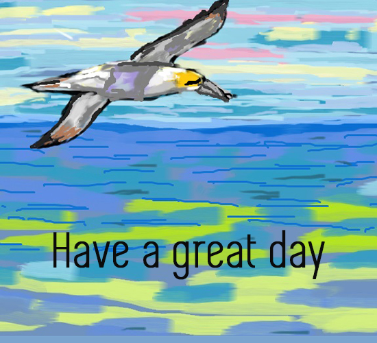 Have A Great Day Sea Bird.