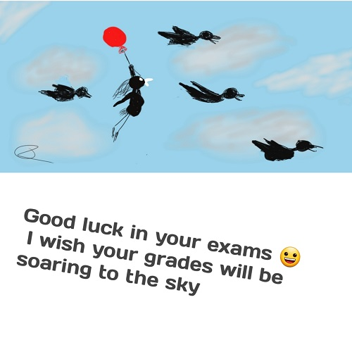 Good Luck To All Students Of All Ages.