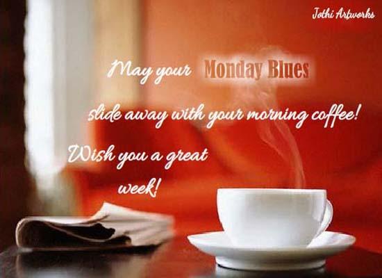 Send Monday Blues Card!