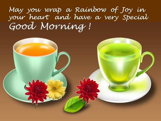 A Special Good Morning Wish.