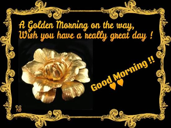 A Lovely Good Morning Wish For You Free Good Morning Ecards 123 Greetings