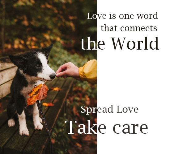 Love World Spread Love.