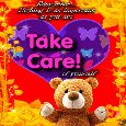 Take Care Card Just For You.