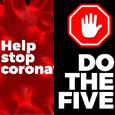 Do The Five. Let's Fight Corona...