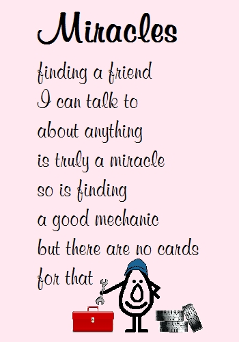 Funny Best Friend Poems Miracles - Funn...