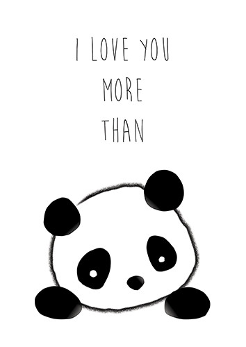 I Love You More Than Panda.