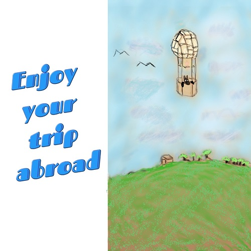 A Greeting Card For An Enjoyable Trip.