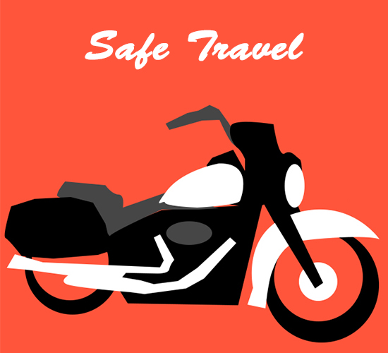 Safe Travel Bike.