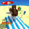 Beach Holiday Beaver.