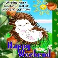 Enjoy The Weekend Card For You.