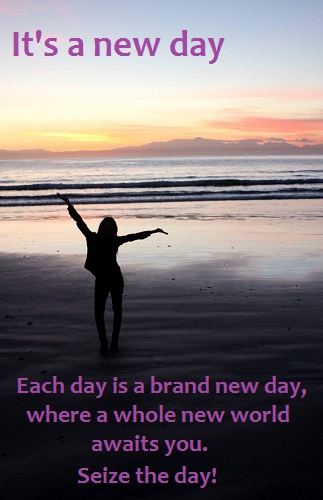 It's A Brand New Day.
