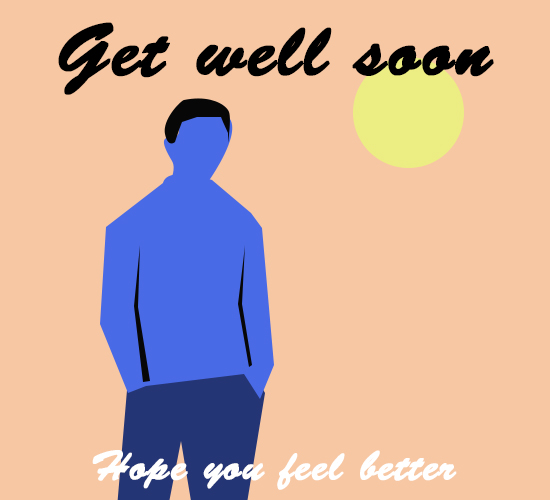 Get Well Soon Bro.