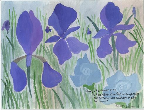 The Clapping Irises.
