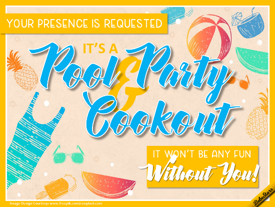 It's A Pool Party!