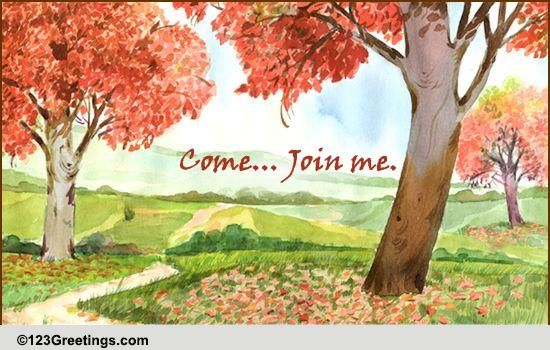 Join Me!