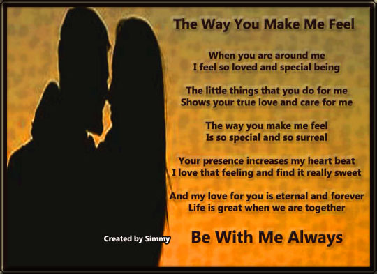 Be With Me Always.