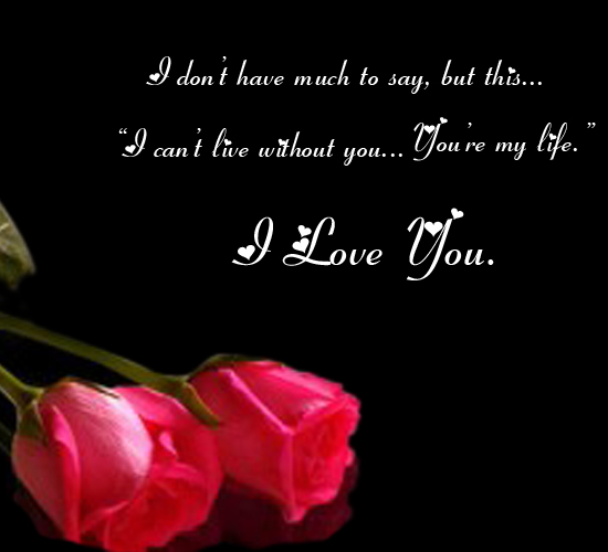 Like Roses Free I Love You Ecards Greeting Cards 123