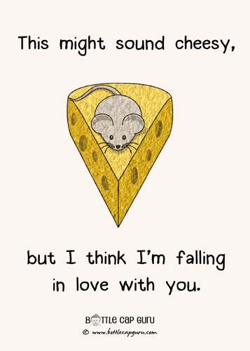 This Might Sound Cheesy...