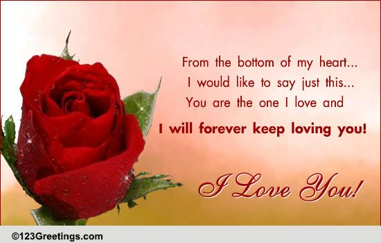 Love You Are Special Cards Free Wishes