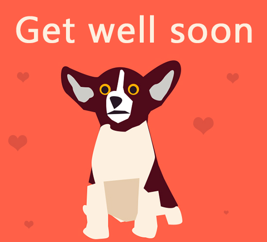 Get Well Soon Pup.