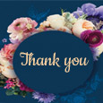 Floral Thank You Note!