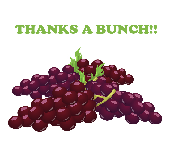 A Bunchful Of Thanks!