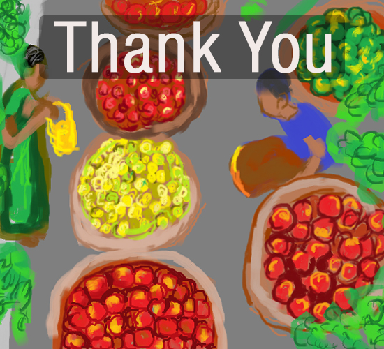 Thank You Fruits.