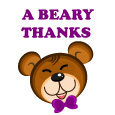 Beary Thanks!