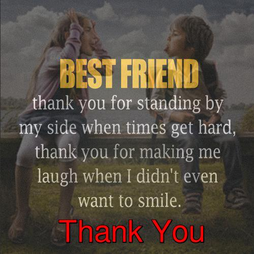 Thank You My Friend. Free Friends eCards, Greeting Cards ...