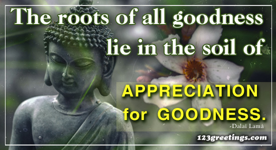 Appreciation For Goodness!