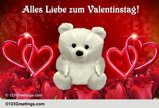 German Valentinstag Cards Free German Valentinstag Wishes 123