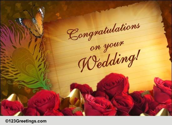 Wedding cards free wedding wishes greeting cards 123 greetings m4hsunfo