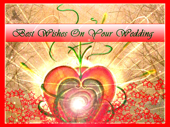 Wishes On Your Wedding...